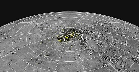 NASA anuncia sinais de gelo e compostos orgânicos em Mercúrio