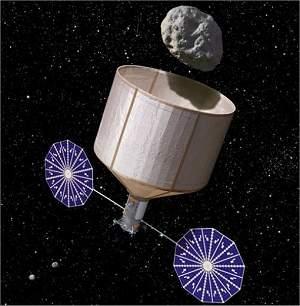 NASA planeja capturar asteroide e colocá-lo em órbita da Lua