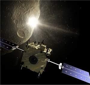 Sonda espacial tentará desviar asteroide duplo