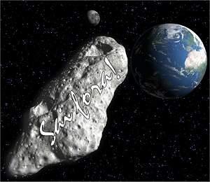 Tinta pode tirar asteroide de rota de colisão com a Terra
