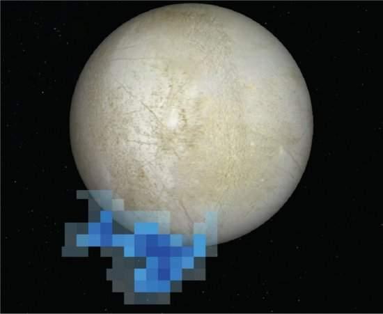 Vapor de água aumenta chances de vida na lua Europa de Júpiter