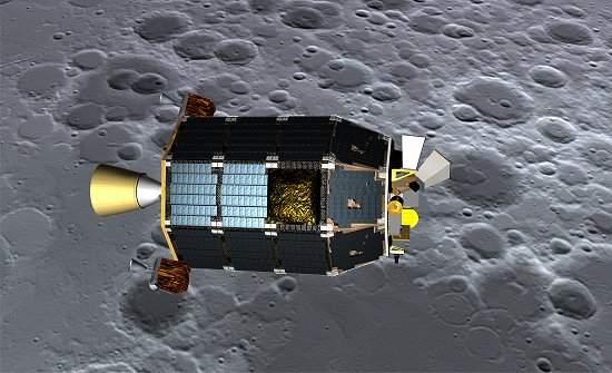 Sonda espacial da NASA cai na superfície da Lua