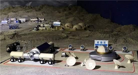 Base lunar da China é testada com sucesso na Terra