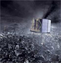 Cometa que será visitado por sonda é duplo