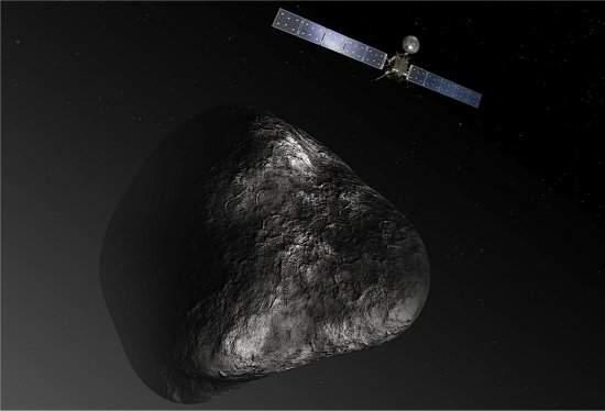 Cometa é mais escuro que carvão - e sem água