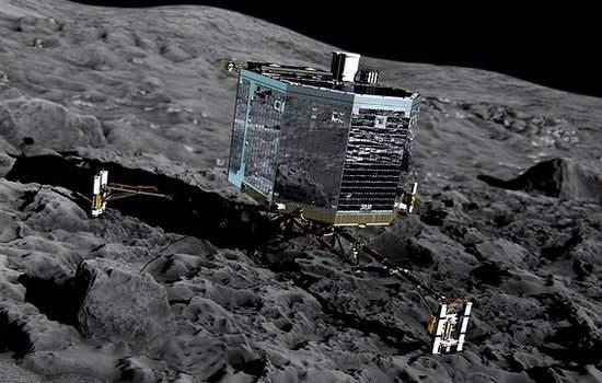 O épico e complicado pouso de Philae no cometa