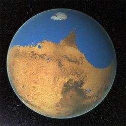 Marte: O planeta que já foi vermelho e azul