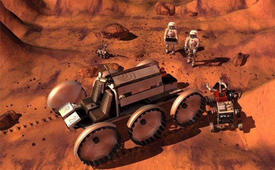 NASA e ESA dizem que ir a Marte é um sonho distante