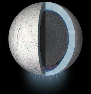Cassini mergulha em gêiser emitido por lua de Saturno