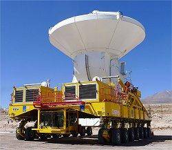Telescópio virtual do tamanho da Terra