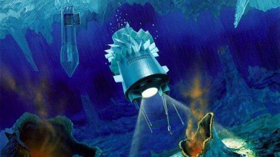 Submarinos espaciais: NASA estuda como explorar oceanos congelados em luas