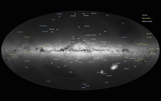 Astrônomos mapeiam 1 bilhão de estrelas e pedem ajuda ao público