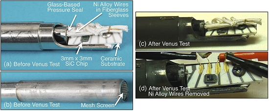 NASA demonstra eletrônica que funciona em Vênus