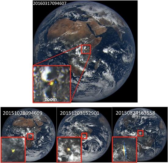 Clarões azuis vistos na Terra a partir do espaço são desvendados