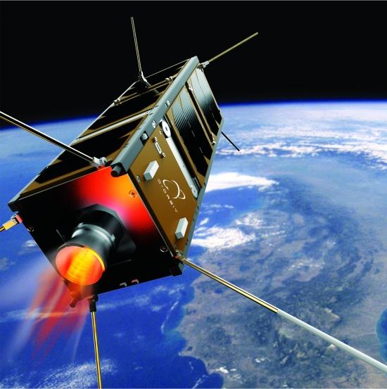 Lançado primeiro satélite que não vai virar lixo espacial