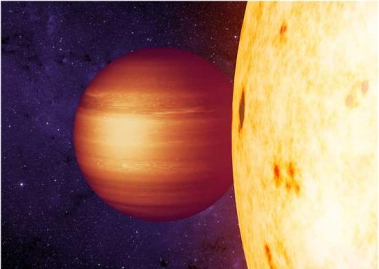 Exoplaneta tem atmosfera girando na contramão