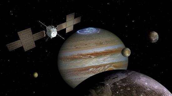Naves e robôs espaciais poderão afundar ao pousar em lua de Júpiter