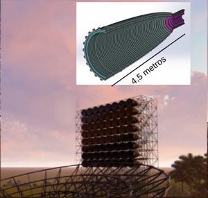 Radiotelescópio Bingo vai estudar geometria do Universo
