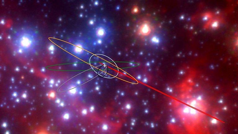 Descobertos objetos estranhos no centro da Via Láctea