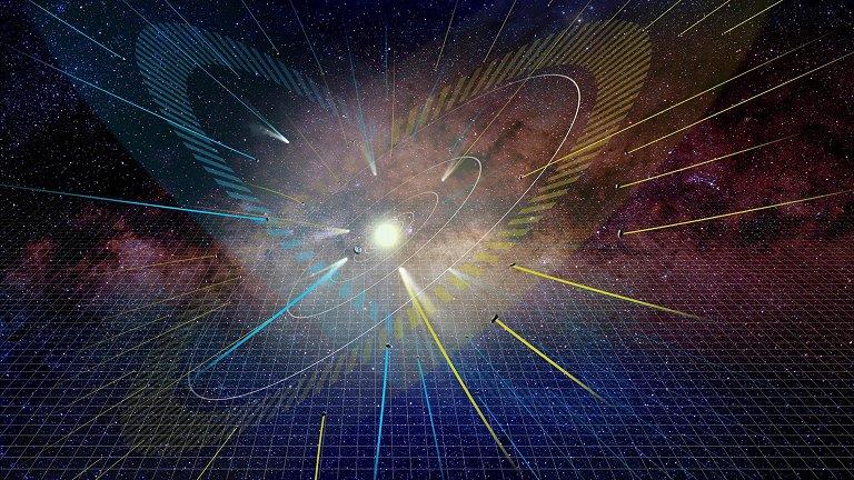 Descoberto segundo plano de alinhamento no Sistema Solar