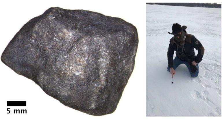 Meteorito quase puro mostra riqueza incomum de compostos orgânicos