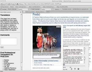 Lançado tradutor universal para Firefox