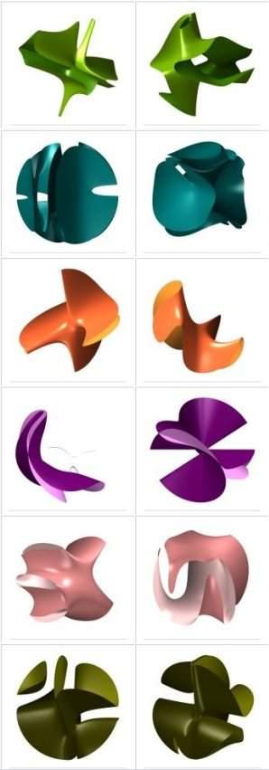 Matemáticos criam Tabela Periódica das formas geométricas