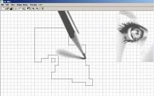 Desenhos industriais em CAD feitos com os olhos