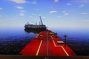 Simulador de navio treinará operadores em situações de risco