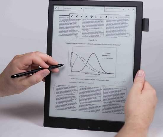 Sony lança Digital Paper para quem quer ler e escrever