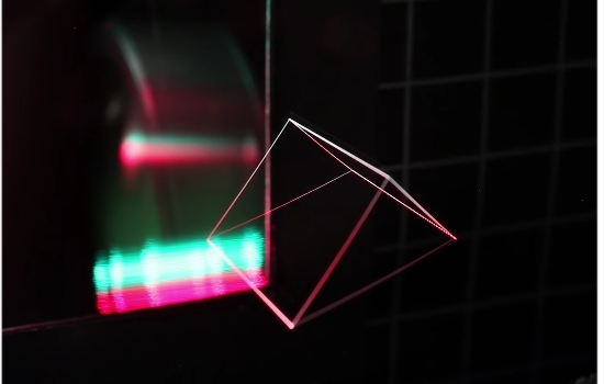 Melhor que holograma: Imagem 3D flutua ao ar livre