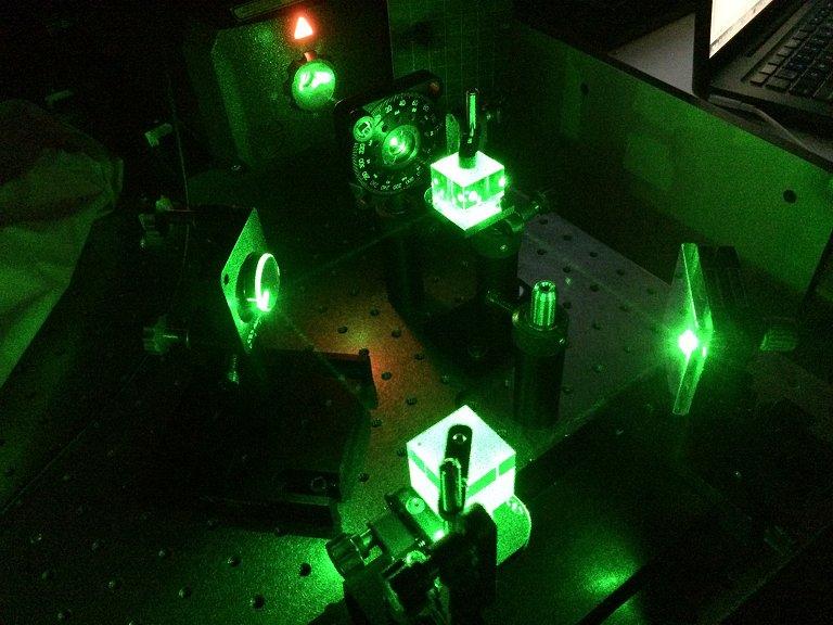 Material que controla luz com luz abre nova via para computação