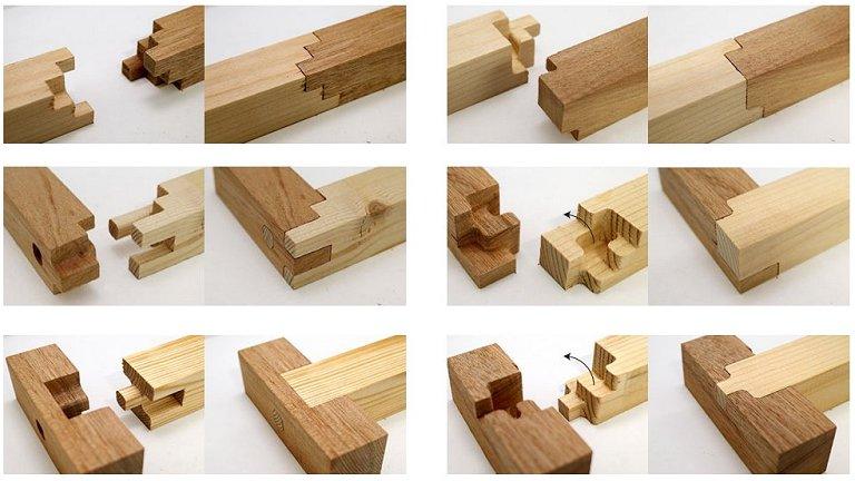 Programa para fazer encaixes de madeira japoneses
