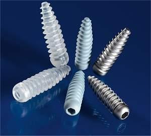 Material bioativo e reabsorvível substitui titânio em implantes