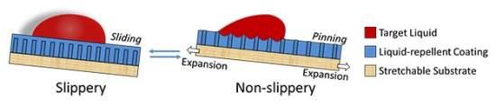 Material adaptativo pode gostar ou não de água e de luz