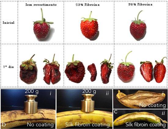 Seda mantém frutas frescas sem refrigeração