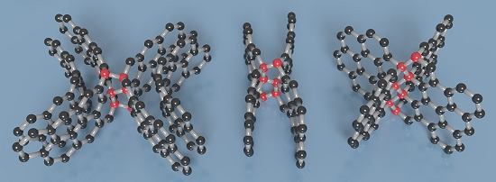 Nova forma de carbono é duro como pedra e elástica como borracha