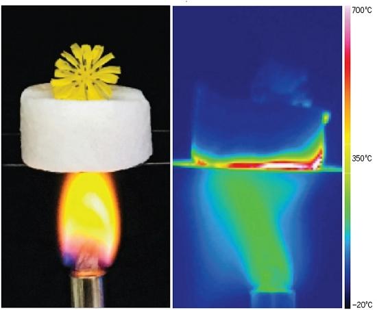 Super-Aerogel é um dos melhores isolantes térmicos já construídos