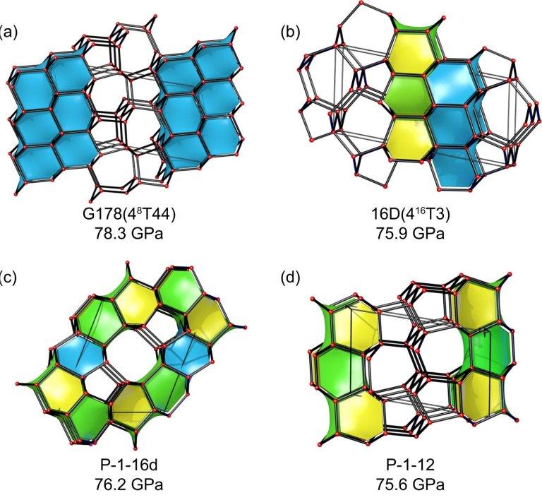 Novas formas de carbono podem ser mais duras que diamante