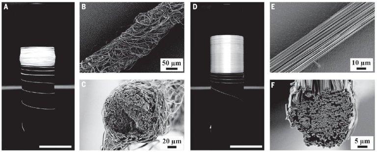 Fios de polímero finalmente alcançam a força da seda de aranha