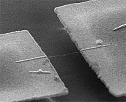 Nanobalança pesa átomos individuais