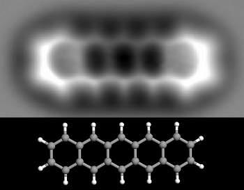 Cientistas fotografam molécula pela primeira vez