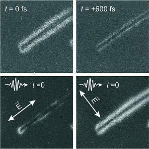 Cientistas usam elétrons para filmar fótons