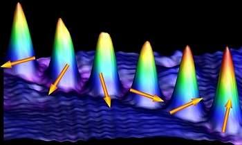 Spin de um átomo é fotografado pela primeira vez