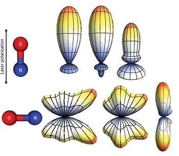 Cientistas fazem foto 3D da camada de valência de uma molécula