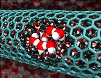 Nanotubos funcionam como reatores químicos