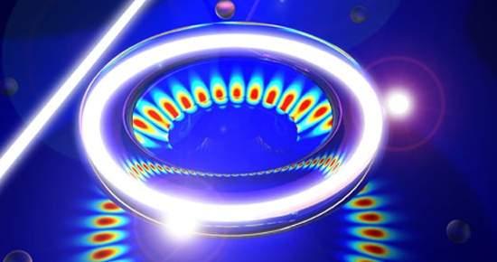 Sensor de luz detecta e pesa menor vírus conhecido