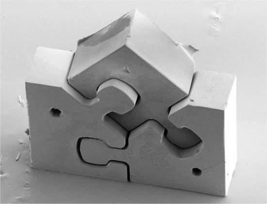 Menor quebra-cabeças do mundo resolve muitas dores de cabeça