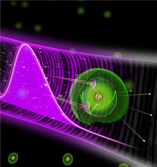 Pulso de luz fotografa elétron mais interno dos átomos