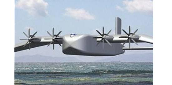 Chineses constroem avião que voa a meio metro de altitude